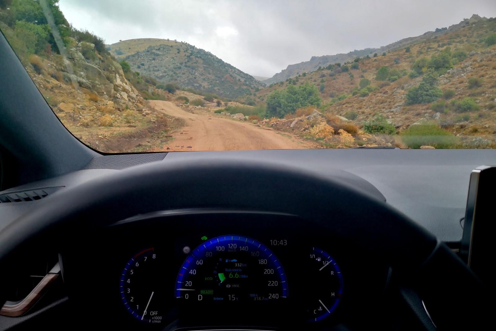 Foto de Toyota Corolla Trek - Imágenes interiores (11/18)