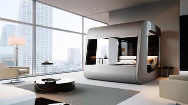 HiCan, la cama de lujo del futuro que muchos ya quisiéramos tener