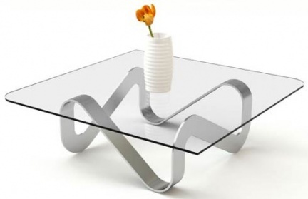 Mesas de salón minimalistas de Adi Fainer