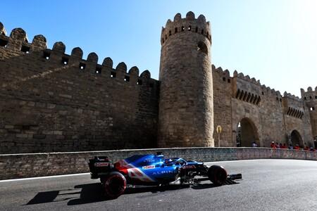 Alonso Azerbaiyan F1 2021 2