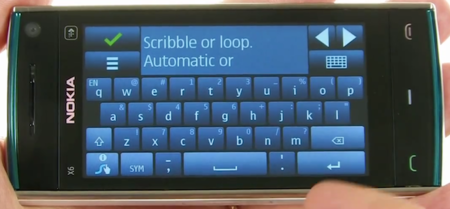 Swype disponible para Symbian^3