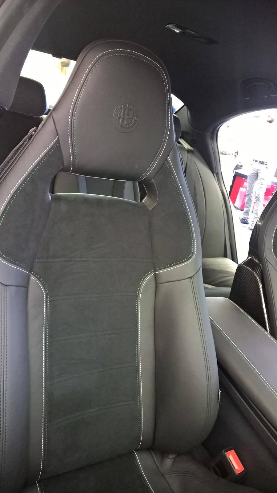Alfa Romeo Giulia, interior