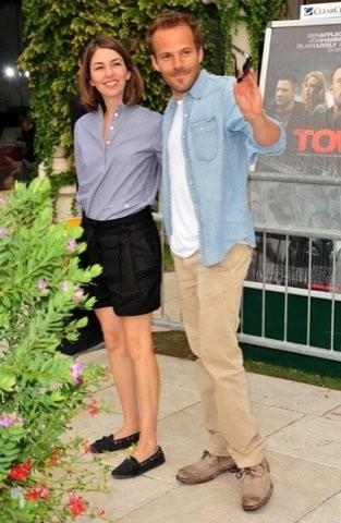 Sofia Coppola en shorts en el Festival de Venecia