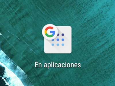"""Google para Android ya permite crear el acceso directo del buscador """"En aplicaciones"""""""
