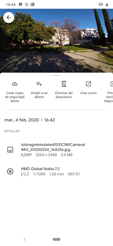 Foto de Android 9 en el Nokia 7.2 (3/6)
