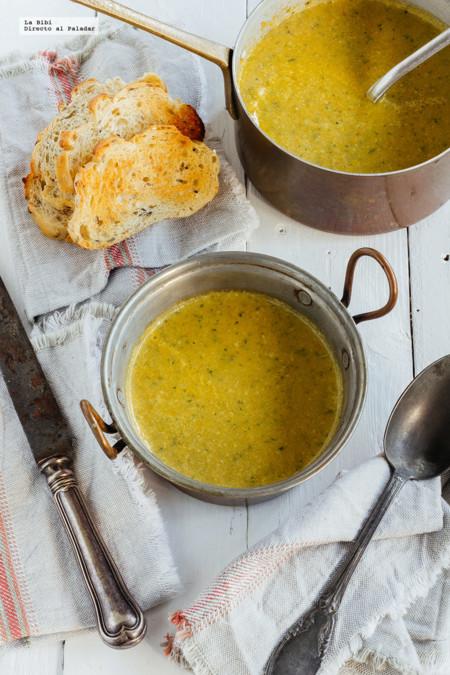 Cómo hacer una clásica sopa de verduras casera