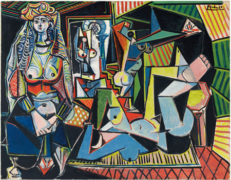 Picasso Femmes D Alger