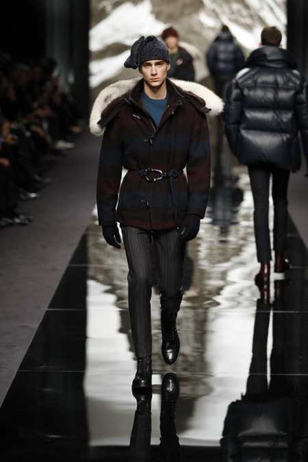 Louis Vuitton Abrigo Artic AW 2014