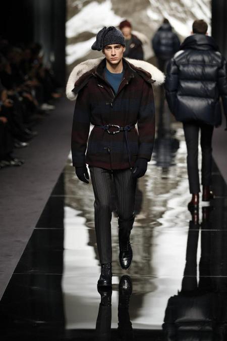 Louis Vuitton Abrigo Artic AW 2014