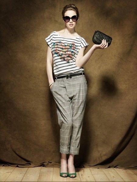 Colección Blanco Pre-Fall 2010: tonos apagados en la ropa antes del otoño I