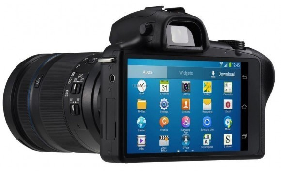 Samsung Galaxy NX: ópticas intercambiables y sistema operativo Android