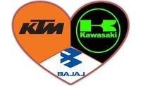 Bajaj, KTM y Kawasaki, podríamos ver una unión a tres bandas