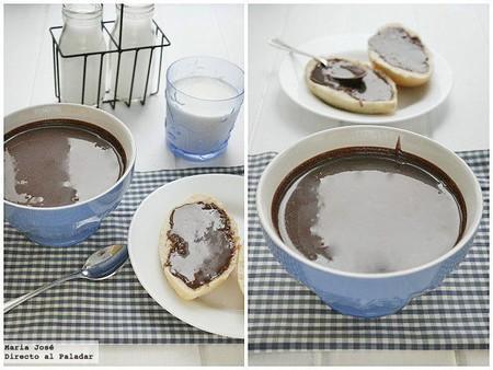 Crema de cacao y avellanas, receta con thermomix