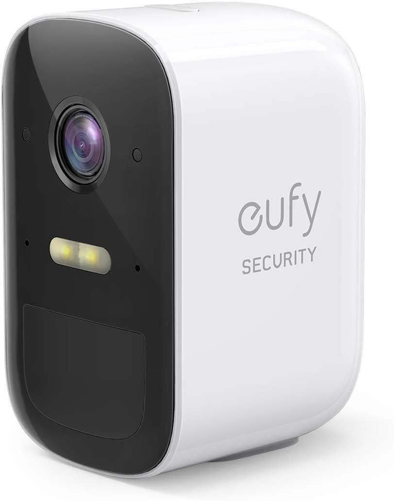 Cámara de Seguridad inalámbrica Adicional eufyCam 2C de eufy Security, Requiere el Sistema HomeBase 2, 180 días de duración de la batería, HD 1080p, sin Tarifa mensual