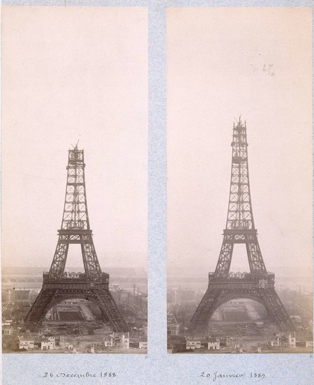 Public Domain Images Eiffel Tower Construction 1800s 0004