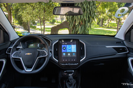 Chevrolet Captiva 2022 Primer Acercamiento Mexico Prueba Opiniones 38