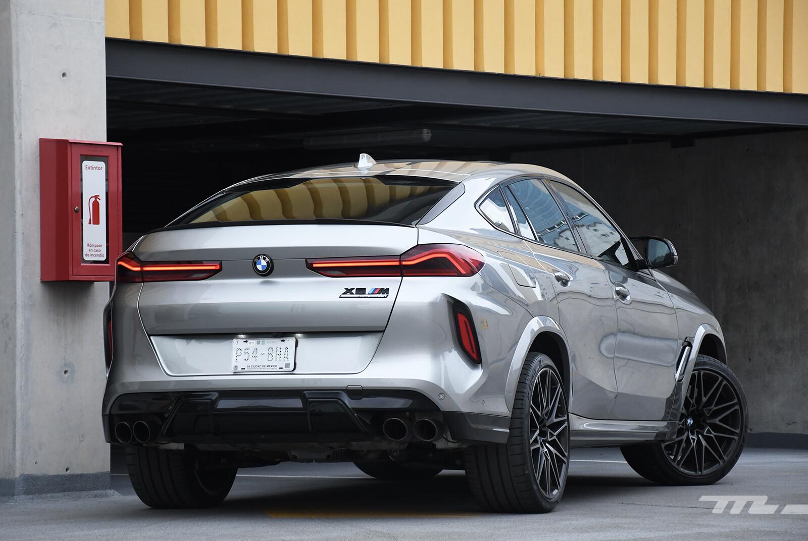 Foto de BMW X6 M Competition 2021 (prueba) (6/27)
