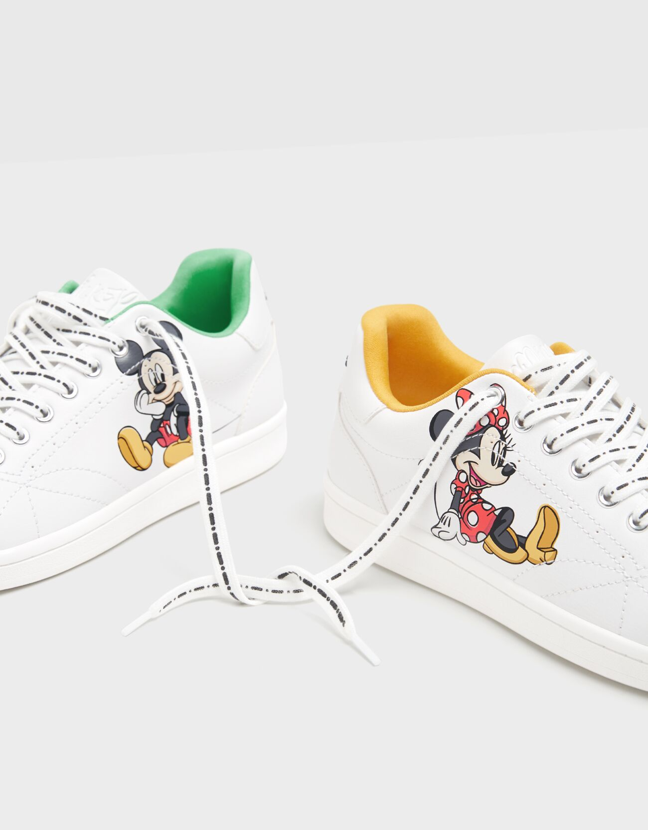 Zapatilla Mickey & Minnie.