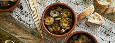 Alcachofas confitadas que se deshacen en la boca: receta en olla de cocción lenta (y también de forma tradicional)
