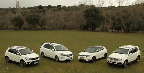 Probamos el nuevo Tivoli 4x4, y de paso los Korando, Rexton y Rodius con nuevo motor y cambios