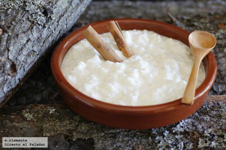 Receta de arroz con leche cremoso exprés (como el de la abuela, pero en la mitad de tiempo)