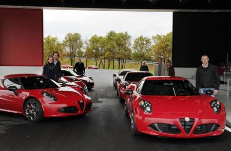Entrega Alfa Romeo Launch Edition Balocco