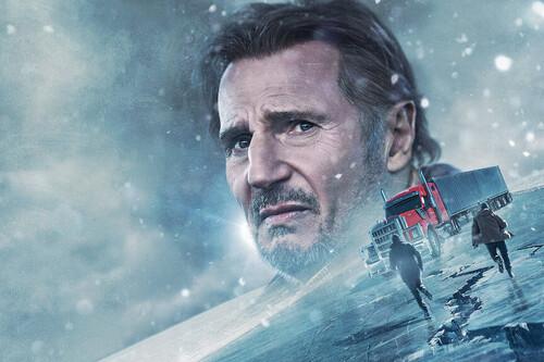 'Ice Road': Liam Neeson reparte estopa sobre hielo en un solvente thriller que evoca el espíritu de videoclub de los 90