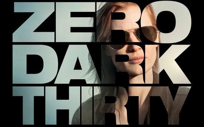 Imagen con el cartel de 'La noche más oscura (Zero Dark Thirty)'