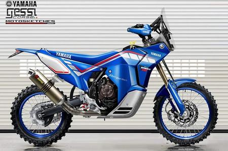 Yamaha Tenere Rally Racer Gessi Moto Oberdan Bezzi Design 2