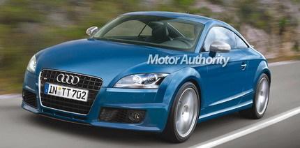 Audi TT-R: ¿5 cilindros en V y 308 caballos?