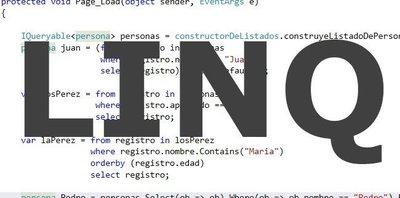 Linq, un lenguaje de consultas que marca diferencias