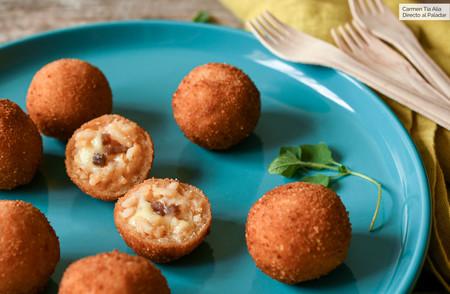 Receta de arancini sicilianas y un truco para hacerlas de forma fácil y rápida