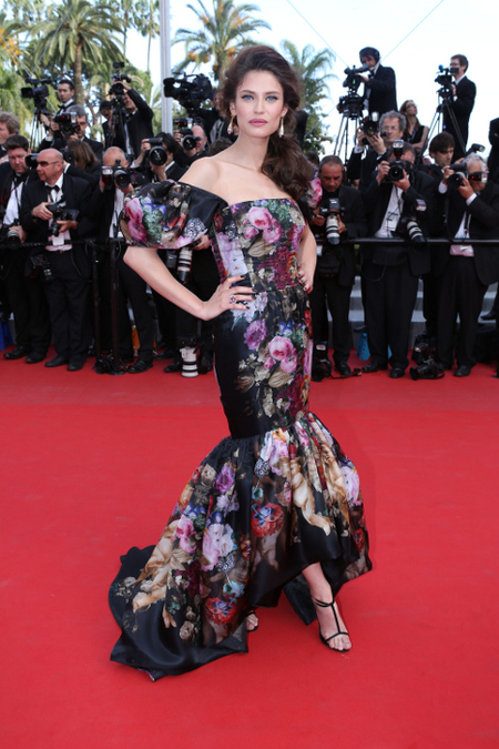 Bianca Balti en el Festival de Cannes