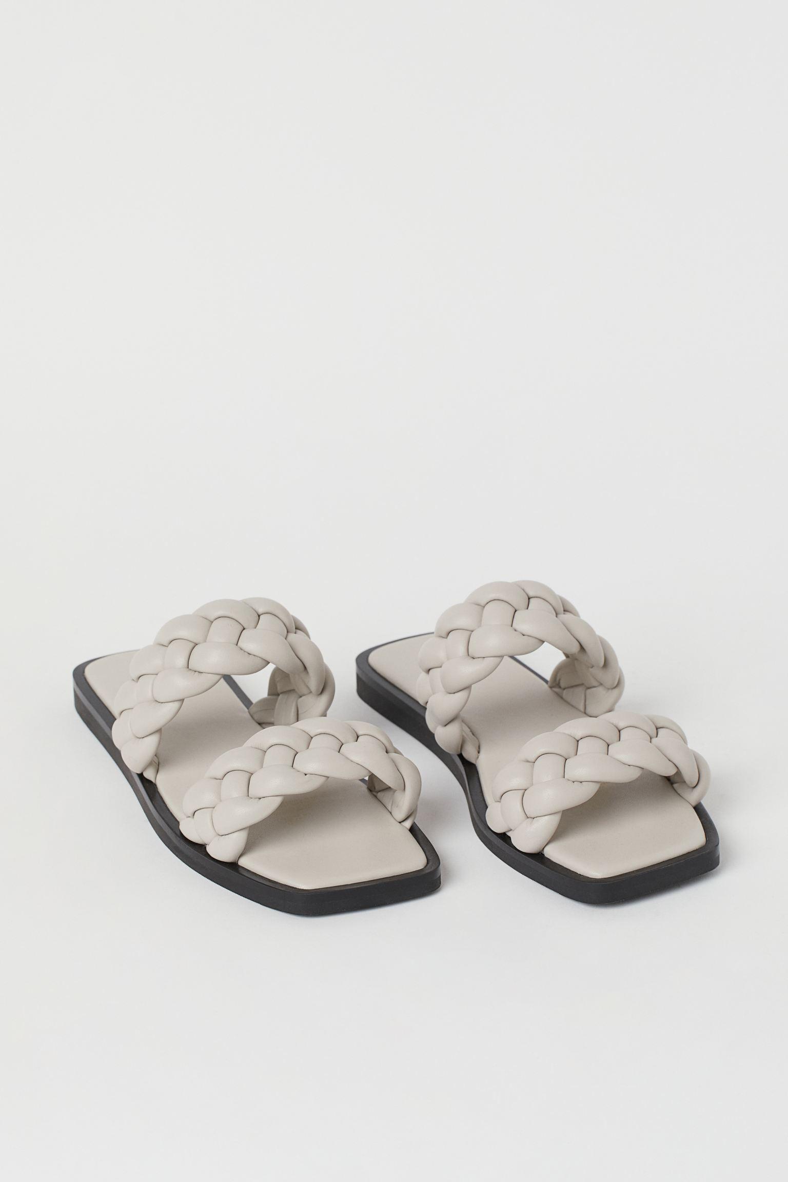 Sandalias trenzadas planas
