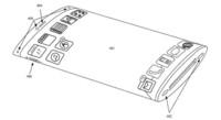 Apple patenta el diseño de un móvil con pantalla curva