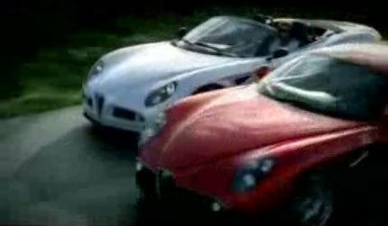 Cuando el Alfa 8C Spider conoció al Alfa 8C Competizione