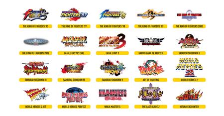 Neo Geo Stick Arcade Pro Juegos