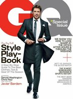 Javier Bardem en la portada de GQ USA