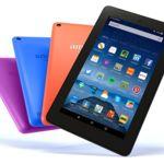 Nuevos colores y más memoria para la tablet Amazon Fire
