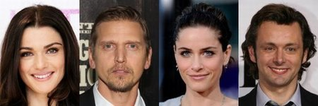Rachel Weisz, Barry Pepper, Amanda Peet y Michael Sheen
