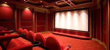 Una sala de cine en tu propia casa