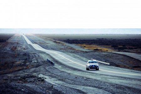 Un Volkswagen Touareg V6 TDI bate el récord de la Panamericana