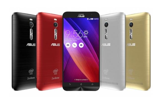 Asus Zenfone 2 Colors