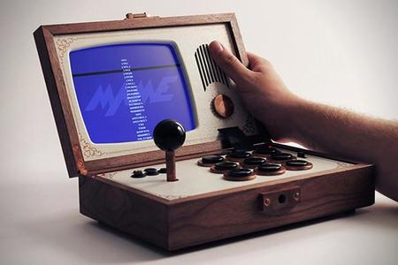 Consola de juegos retro R-KAID-R