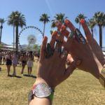 Cuando Coachella llega al nail-art. Os proponemos 22 ideas locas