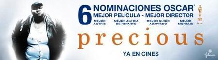 Ganadores del concurso de una invitación doble para ver 'Precious'