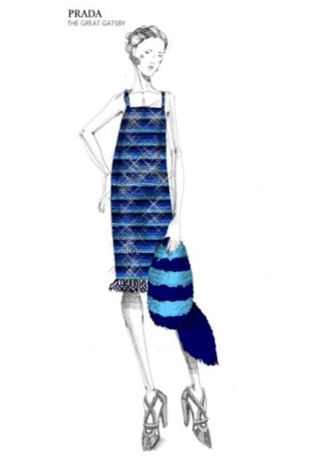 """Miuccia Prada desvela cuatro de sus vestidos para la película """"The Great Gatsby"""""""