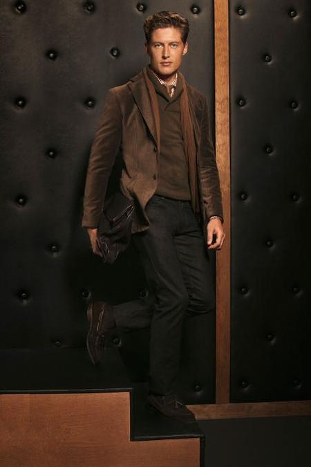 Massimo Dutti marrón otoño 2012