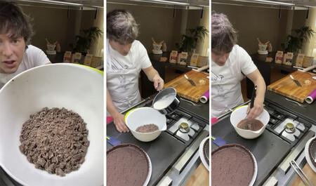 Tarta De Chocolate Facil De Jordi Cruz 3