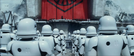 First Order On Parade Starkiller Base